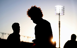 Manchester United's Marouane Fellaini warms up before the Premier League match at the Vitality Stadium, Bournemouth.