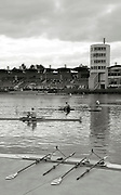 Duisburg, GERMANY.  FISA Masters World Championship. .Wedau Regatta Course .14:44:32  Thursday  06/09/2012   ..[Mandatory Credit Peter Spurrier:  Intersport Images]  ..Rowing, Masterss, 2012010467.jpg...