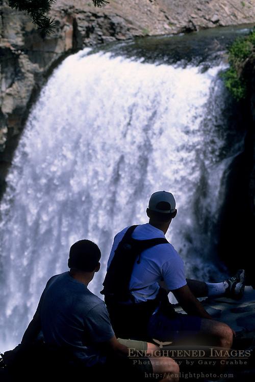 Rainbow Falls, Middle Fork of the San Joaquin River, Ansel Adams Wilderness, Eastern Sierra, CALIFORNIA