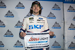 November 10, 2017 - Avondale, Arizona, United States of America - November 10, 2017 - Avondale, Arizona, USA: Ryan Blaney (21) wins the pole award for the Can-Am 500(k) at Phoenix Raceway in Avondale, Arizona. (Credit Image: © Justin R. Noe Asp Inc/ASP via ZUMA Wire)