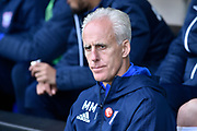 Ipswich Town manager Mick McCarthy during the EFL Sky Bet Championship match between Burton Albion and Ipswich Town at the Pirelli Stadium, Burton upon Trent, England on 28 October 2017. Photo by Richard Holmes.
