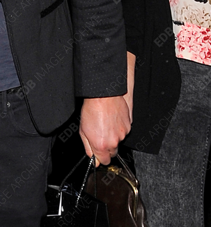 20.JANUARY.2011. LONDON<br /> <br /> HOWARD DONALD OF THE POP GROUP TAKE THAT WITH GIRLFRIEND KATIE HALIL ARRIVING FOR FELLOW BAND MEMBER GARY BARLOW'S 40TH BIRTHDAY BASH AT THE 02 ACADEMY IN SHEPHERDS BUSH, WEST LONDON<br /> <br /> BYLINE: EDBIMAGEARCHIVE.COM<br /> <br /> *THIS IMAGE IS STRICTLY FOR UK NEWSPAPERS AND MAGAZINES ONLY*<br /> *FOR WORLD WIDE SALES AND WEB USE PLEASE CONTACT EDBIMAGEARCHIVE - 0208 954 5968*