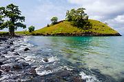 Lagoa Azul (Blue Lagoon), in São Tomé island