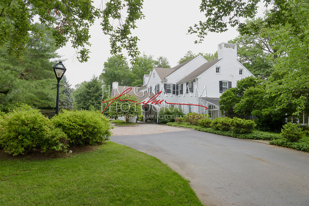 Waggoners Row in Greenville, De.  The property was formerly owned by R. R. M. Carpenter Jr., the former owner of the Philadelphia Phillies and his wife Mary Kaye.  Photograph by Jim Graham
