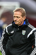Keith Downing, jointly in charge of West Bromwich Albion for the game against West Ham United, before the Barclays Premier League match at the Boleyn Ground, London<br /> Picture by David Horn/Focus Images Ltd +44 7545 970036<br /> 01/01/2015