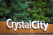 Crystal City Sign