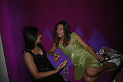 Shereen Hasan and Laila Rouass. Opening of new   West End nightclub Movida, Argyll Street. London W1.  June 8, 2005 in London, EnglandONE TIME USE ONLY - DO NOT ARCHIVE  © Copyright Photograph by Dafydd Jones 66 Stockwell Park Rd. London SW9 0DA Tel 020 7733 0108 www.dafjones.com