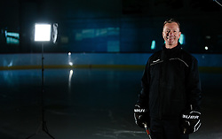 10.08.2015, Red Bull Akademie Liefering, Salzburg, AUT, EBEL, Medien Tag, im Bild Trainer Todd Bjorkstrand (Graz 99ers) // during the Erste Bank Icehockey League Media Da at the Red Bull Football and Icehockey Academy Liefering in Salzburg, Austria on 2015/08/10. EXPA Pictures © 2015, PhotoCredit: EXPA/ JFK