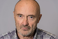 Phil Collins, ex-Genesis drummer and singer.