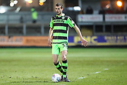 Forest Green Rovers Haydn Hollis(32) during the EFL Sky Bet League 2 match between Newport County and Forest Green Rovers at Rodney Parade, Newport, Wales on 6 March 2018. Picture by Shane Healey.