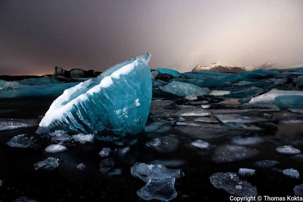 Iceberg at Twilight