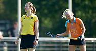 GRONINGEN - Hoofdklasse dames.<br /> Groningen v HDM<br /> Foto: Scheidsrechter Ymkje van Slooten.<br /> WORLDSPORTPICS COPYRIGHT FRANK UIJLENBROEK