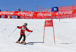 17.03.2017, Schladming, AUT, Special Olympics 2017, Wintergames, Ski Alpin, Einteilung Kategorie Novice, im Bild Selene Cumillan (ARG) // during the Ski Alpine Assessment Novice at the Special Olympics World Winter Games Austria 2017 in Schladming Austria on 2017/03/17. EXPA Pictures © 2017, PhotoCredit: EXPA / Martin Huber