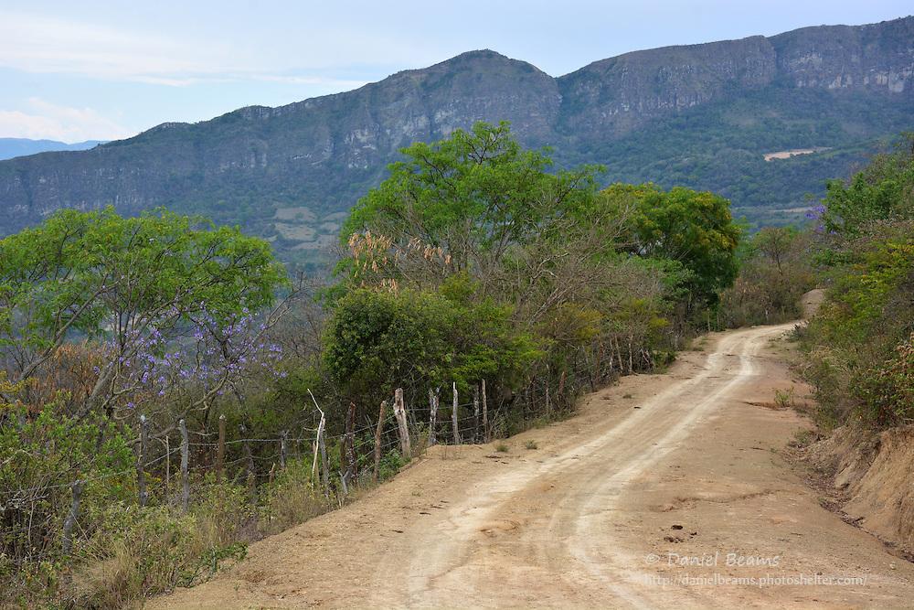 Landscape in Moro Moro, Santa Cruz, Bolivia