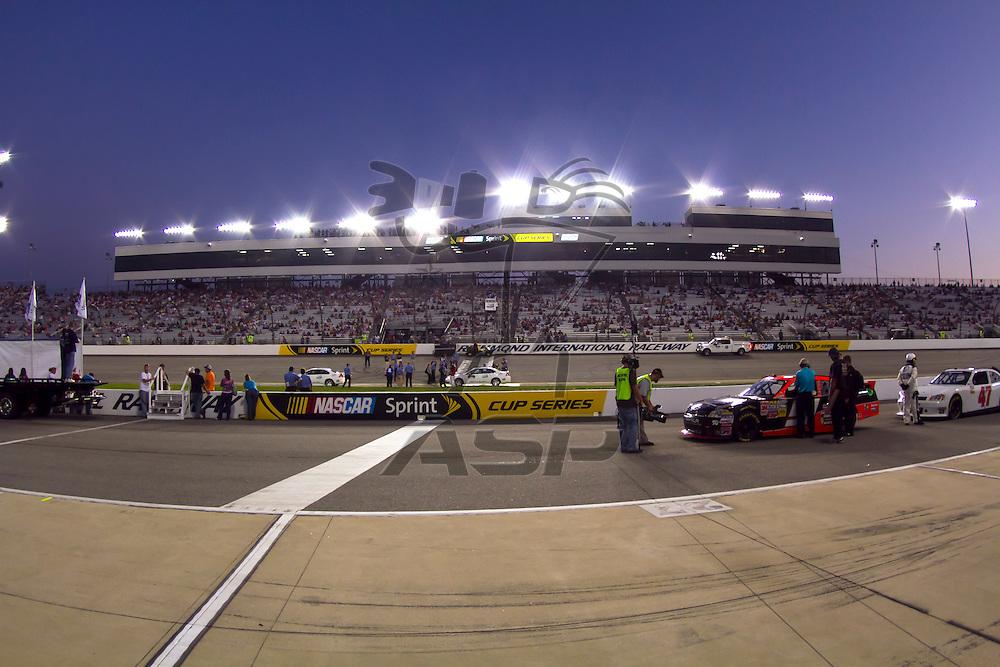 RICHMOND, VA  - SEP 09, 2011:  takes to the track for the Virginia 529 College Savings 250 at the Richmond International Raceway in Richmond, VA.