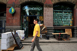 USA NEW YORK 04JUN10 - The Green Depot, an eco-friendly builders merchant in downtown Manhattan, New York...jre/Photo by Jiri Rezac..© Jiri Rezac 2010