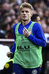 February 10, 2019 - Valencia, Spain - Daniel Wass of Valencia CF  during  spanish La Liga match between Valencia CF v Real Sociedad at Mestalla Stadium on February 10, 2019. (Photo by Jose Miguel Fernandez/NurPhoto) (Credit Image: © Jose Miguel Fernandez/NurPhoto via ZUMA Press)
