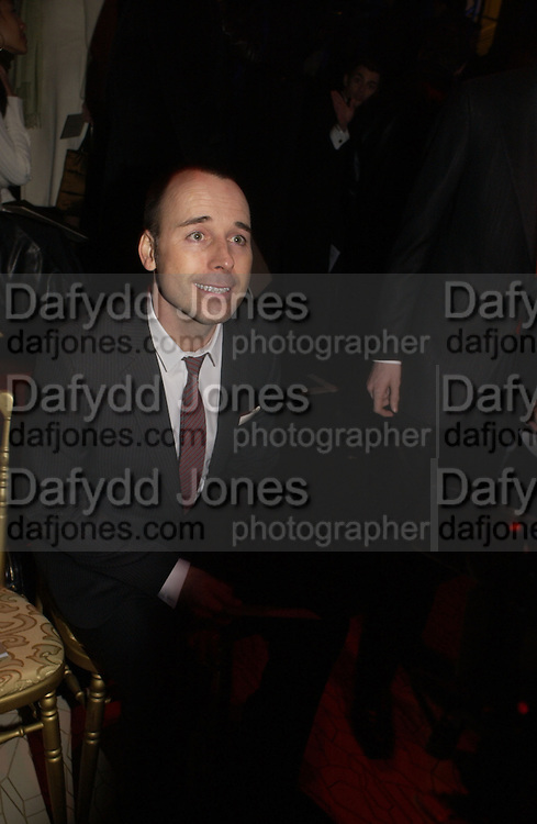 David Furnish, Valentino couture show, Ecole Nationale Superiore des Beaux -Arts, rue Bonaparte. After party at the Ritz. 23 January  2006.  ONE TIME USE ONLY - DO NOT ARCHIVE  © Copyright Photograph by Dafydd Jones 66 Stockwell Park Rd. London SW9 0DA Tel 020 7733 0108 www.dafjones.com
