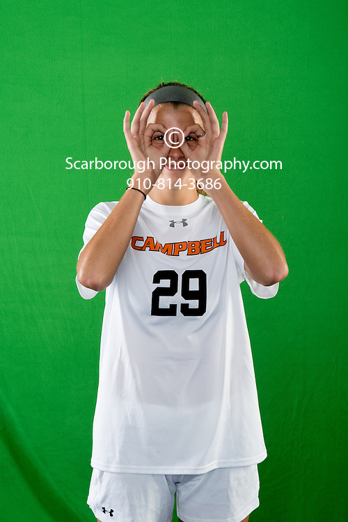 2016 Campbell University Women Soccer Portraits