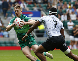 May 26, 2019 - London, England, United Kingdom - Terry Kennedy of Ireland .during The HSBC World Rugby Sevens Series 2019 London 7s Cup Quarter Final Match 32 between Fiji and Ireland at Twickenham on 26 May 2019. (Credit Image: © Action Foto Sport/NurPhoto via ZUMA Press)