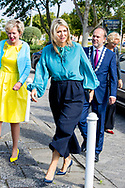12-7-2018 HEERHUGOWAARD - Queen Maxima brings a working visit to the Young Lady Business Academy. copyright robin utrecht