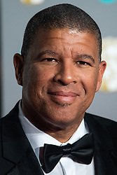 Peter Ramsey attending 72nd British Academy Film Awards, Arrivals, Royal Albert Hall, London. 10th February 2019