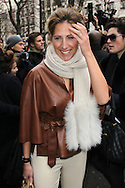 PARIS, FRANCE - JANUARY 23:  Maud Fontenoy arrives at the Dior Haute-Couture 2012 show as part of Paris Fashion Week at Salons Christian Dior on January 23, 2012 in Paris, France.  (Photo by Tony Barson/WireImage)