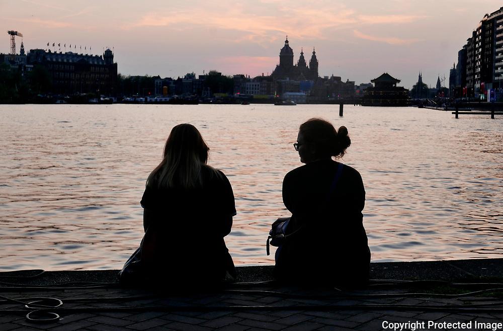 August 25, 2017 - 20:46<br /> The Netherlands, Amsterdam - Oosterdok