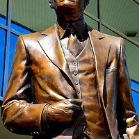 President Ford Statue at Gerald Ford Presidential Museum in Grand Rapids, Michigan<br />