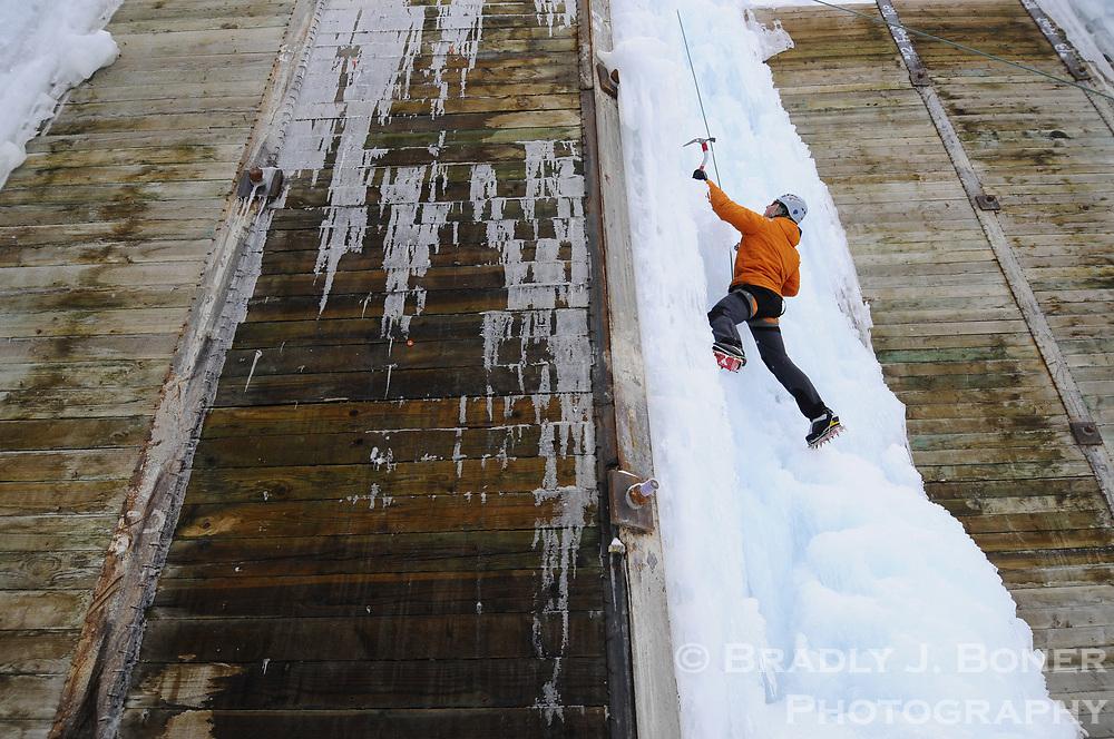 Ice festival at Teton Ice Park