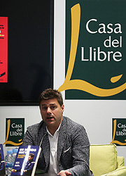 June 1, 2018 - Barcelona, Catalonia, Spain - Mauricio Pochettino, candidate to replace Zinedine Zidane as coach of Real Madrid, in the presentation of his book A New World, on June 1 2018 in Barcelona, Spain. (Credit Image: © Joan Valls/NurPhoto via ZUMA Press)