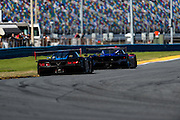 January 22-25, 2015: Rolex 24 hour. 10, Chevrolet, Corvette DP, P, Ricky Taylor, Jordan Taylor, Max Angelelli chases 02, Ford EcoBoost, Riley DP, P, Scott Dixon, Tony Kanaan, Kyle Larson, Jamie McMurray