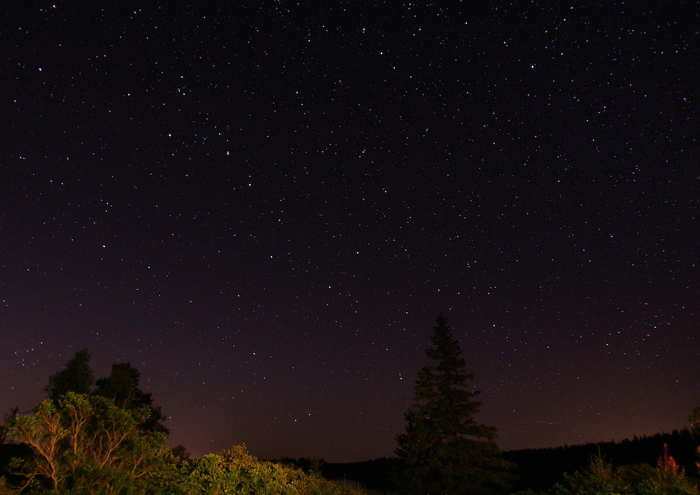 Vinalhaven, Maine 2007: .Big Dipper over Penobscot Bay