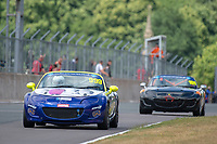 #999 Patrick COLLINS Mazda MX-5 Mk3  during BRSCC Mazda MX-5 Super Series  as part of the BRSCC NW Mazda Race Day  at Oulton Park, Little Budworth, Cheshire, United Kingdom. June 16 2018. World Copyright Peter Taylor/PSP. Copy of publication required for printed pictures. http://archive.petertaylor-photographic.co.uk