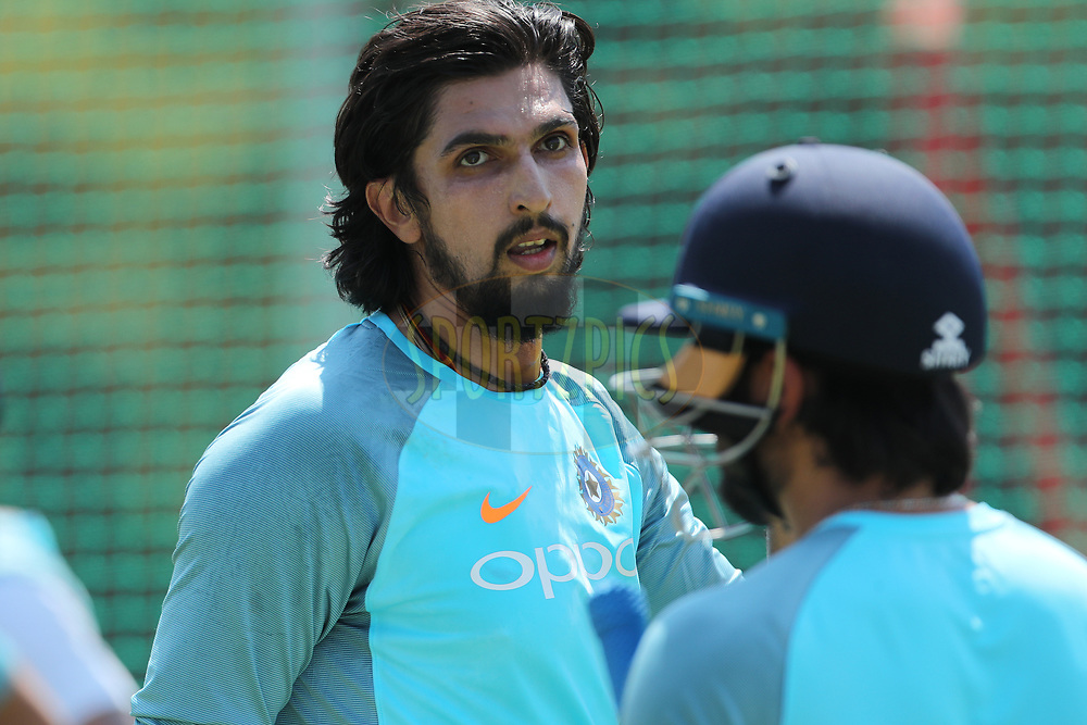 Ishant Sharma of India  during the Indian team practice session and press conference held at the Supersport Park stadium in Centurion, Gauteng, South Africa ahead of the 2nd test match between South Africa and India on the 12th January 2018<br /> <br /> Photo by: Ron Gaunt / BCCI / SPORTZPICS
