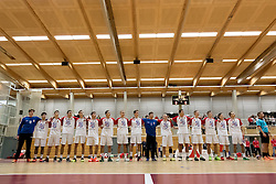05.11.2016, SPORT. ZENTRUM Niederösterreich, St. Pölten, AUT, Invitational, Österreich vs Serbien, im Bild das Team von Serbien// during the Invitational match between Austria and Serbia at the SPORT. ZENTRUM Niederösterreich, St. Pölten, Austria on 2016/11/05, EXPA Pictures © 2016, PhotoCredit: EXPA/ Sebastian Pucher