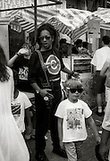 Don Letts and Elliott at the 1991 carnival