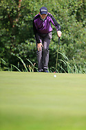 Simon Miskelly (Knock) during the second round at the Connacht Mid Amateur Open, Roscommon Golf Club, Roscommon, Roscommon, Ireland. 17/08/2019.<br /> Picture Fran Caffrey / Golffile.ie<br /> <br /> All photo usage must carry mandatory copyright credit (© Golffile   Fran Caffrey)