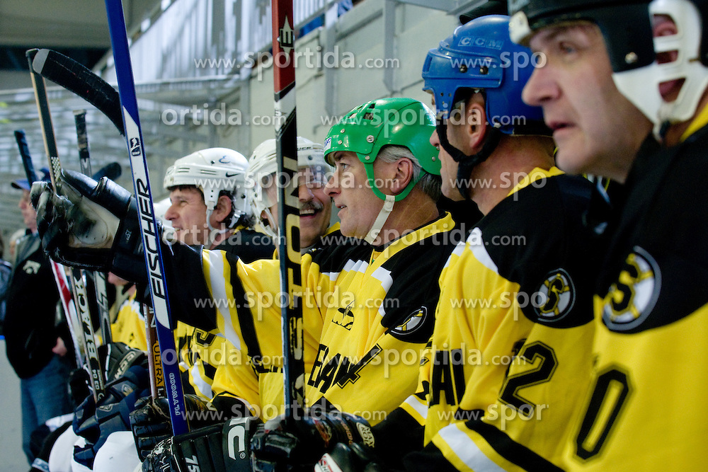 at 60th Anniversary of Hockey Club Slavija, on December 4, 2010 at Hala Zalog, Ljubljana, Slovenia. (Photo By Matic Klansek Velej / Sportida.com)