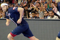 Nasser Al Khelaifi - 12.04.2015 - Paris Handball / Vezprem - Champions League<br />Photo :  Andre Ferreira  / Icon Sport