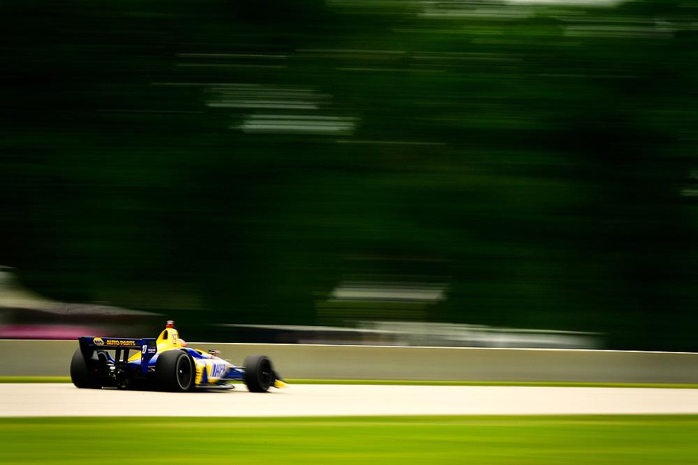 Alexander Rossi, Andretti Autosport Honda<br /> Friday 22 June 2018<br /> KOHLER Grand Prix at Road America<br /> Verizon IndyCar Series<br /> Road America WI USA<br /> World Copyright: Scott R LePage