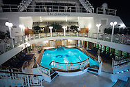 Late night in The Sanctuary. From aboard the M/V Ruby Princess sailing from Ft. Lauderdale to Princess Cays, Bahamas.