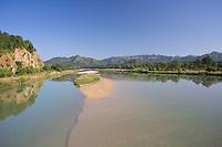 Babai River and the Babai Valley near Bardia National Park, Nepal