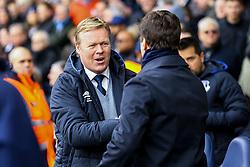 Everton manager Ronald Koeman greats Tottenham Hotspur manager Mauricio Pochettino - Mandatory by-line: Jason Brown/JMP - 05/03/2017 - FOOTBALL - White Hart Lane - London, England - Tottenham Hotspur v Everton - Premier League