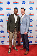 VIP guests pose with Teddy Bridgewater, New York Jets and former University of Louisville quarterback and guest speaker at the Courier Journal Sports Awards at the Louisville Palace. June 7, 2018