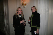 Brigitte Dowsett and Alison Rowntree-Taylor, NCH Spring Ladies lunch. NCH, the children's charity, helps children and young people facing difficulties or challenges in their lives. Mandarin Oriental Hotel. 8 March 2007.  -DO NOT ARCHIVE-© Copyright Photograph by Dafydd Jones. 248 Clapham Rd. London SW9 0PZ. Tel 0207 820 0771. www.dafjones.com.