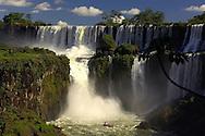 Cataratas del Iguazu, Iguazu Waterfalls, Puerto Iguazu, Misiones, Argentina