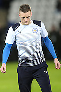 Jamie Vardy of Leicester City during the Premier League match at the King Power Stadium, Leicester<br /> Picture by Andy Kearns/Focus Images Ltd 0781 864 4264<br /> 27/02/2017