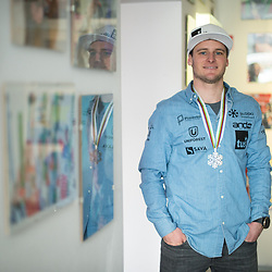 20190211: SLO, Snowboarding - Tim Mastnak of Slovenia, silver medalist at World Championship in Utah