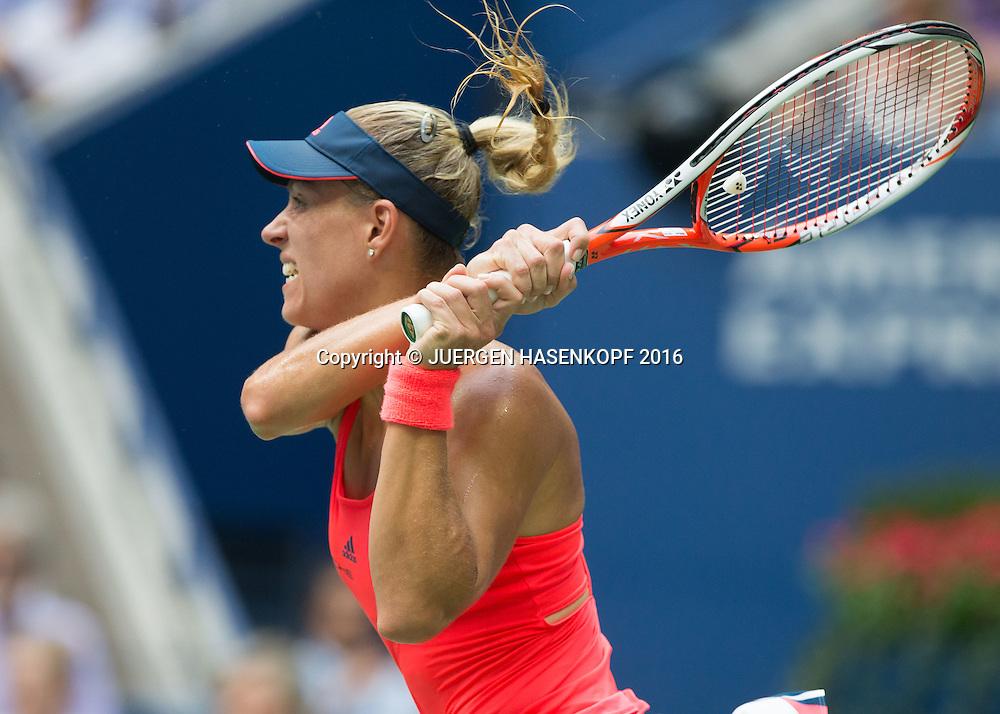 ANGELIQUE KERBER (GER)<br /> <br /> Tennis - US Open 2016 - Grand Slam ITF / ATP / WTA -  USTA Billie Jean King National Tennis Center - New York - New York - USA  - 10 September 2016.